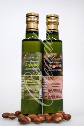Bio-Arganöl Classic-Basic mit Argannüssen