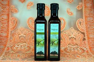 Arganöl filtrieren